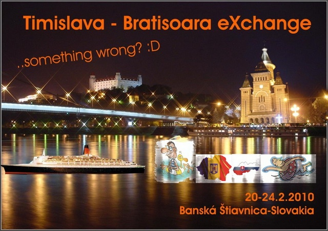 Exchange Bratisoara Timislava